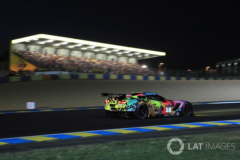 1. GTE-Am: #50 Larbre Competition, Corvette C7-Z06