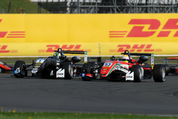 Joel Eriksson, Motopark, Dallara F317 - Volkswagen and Callum Ilott, Prema Powerteam, Dallara F317 - Mercedes-Benz