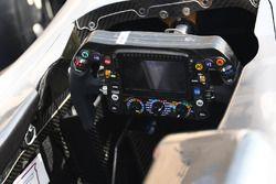 Mercedes-Benz F1 W08 Hybrid stuur