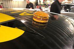 Hamburger cam on Tim Slade's Brad Jones Racing Holden Commodore