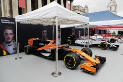 McLaren, Williams und Sahara Force India F1