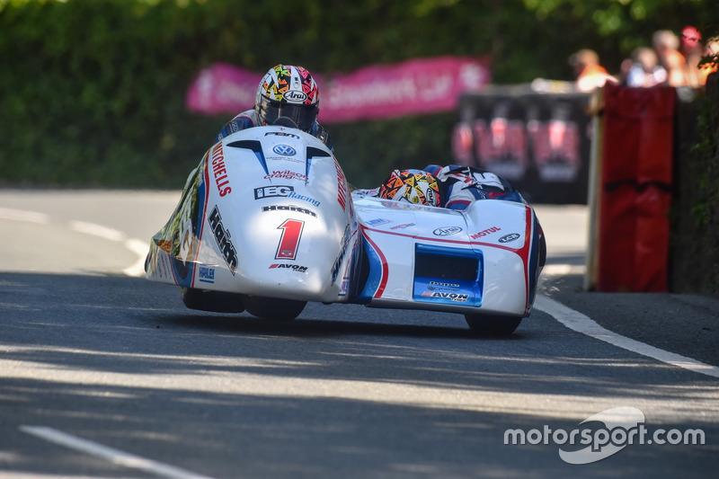 Sidecar TT 1: 1. Platz - Ben Birchall / Tom Birchall, IEG Racing