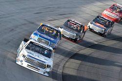 Ryan Truex, Hattori Racing Enterprises, Toyota; Chase Briscoe, Brad Keselowski Racing, Ford
