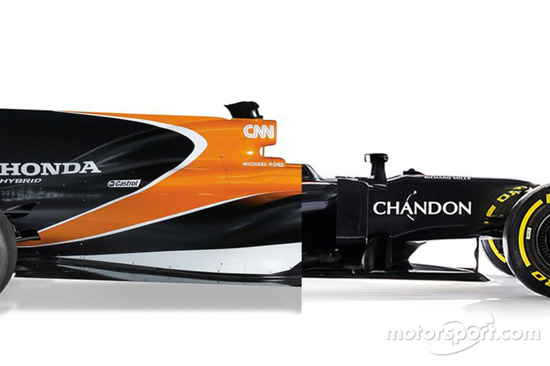 Vergleich: McLaren MP4-31 von 2016 und McLaren MCL32 von 2017
