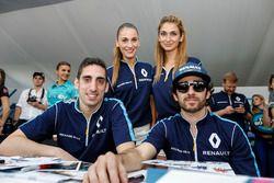 Sébastien Buemi, Renault e.Dams und Nicolas Prost, Renault e.Dams
