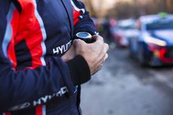 Uhr: Manuelle Zeitnahme bei Hyundai Motorsport