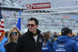 Graham Rahal, Michael Shank Racing avec sa femme Courtney Force