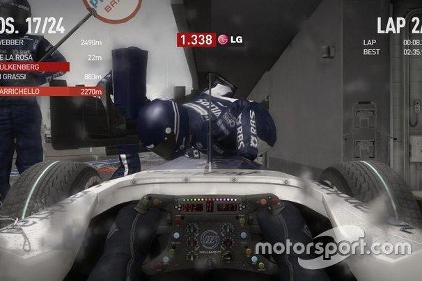Kecelakaan saat pit stop, F1 2010