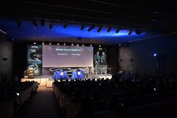 Yamaha-Teampräsentation am Hauptsitz von Telefonica-Movistar