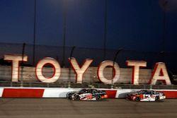 Christopher Bell, Joe Gibbs Racing Toyota, Ty Dillon, Richard Childress Racing Chevrolet