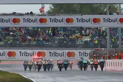 Start zum Moto3-Rennen 2017 in Misano