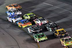 Daniel Suárez, Joe Gibbs Racing Toyota, Ricky Stenhouse Jr., Roush Fenway Racing Ford, A.J. Allmendi