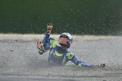 Alex Rins, Team Suzuki MotoGP crash