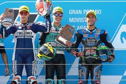 Podium: 1. Joan Mir, Leopard Racing; 2. Fabio Di Giannantonio, Del Conca Gresini Racing Moto3; 3. En