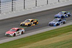 Ryan Blaney, Wood Brothers Racing Ford, Matt Kenseth, Joe Gibbs Racing Toyota, Danica Patrick, Stewa