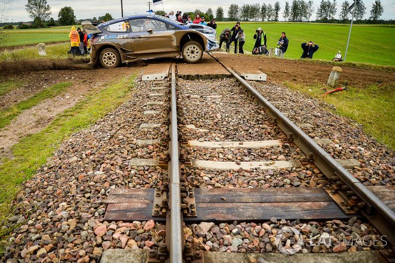 Teemu Suninen, Mikko Markkula, Ford Fiesta WRC, Polonia 2017: 6º