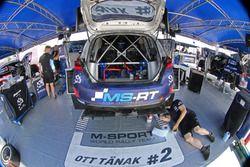 Coche de Ott Tänak, Martin Järveoja, M-Sport, Ford Fiesta WRC