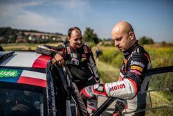 Каетан Каетанович, LOTOS Rally Team, и Ярослав Федоров