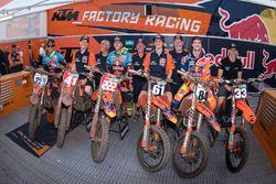 Glenn Coldenhoff, Red Bull KTM Factory Racing, Tony Cairoli, Red Bull KTM Factory Racing, Jeffrey He