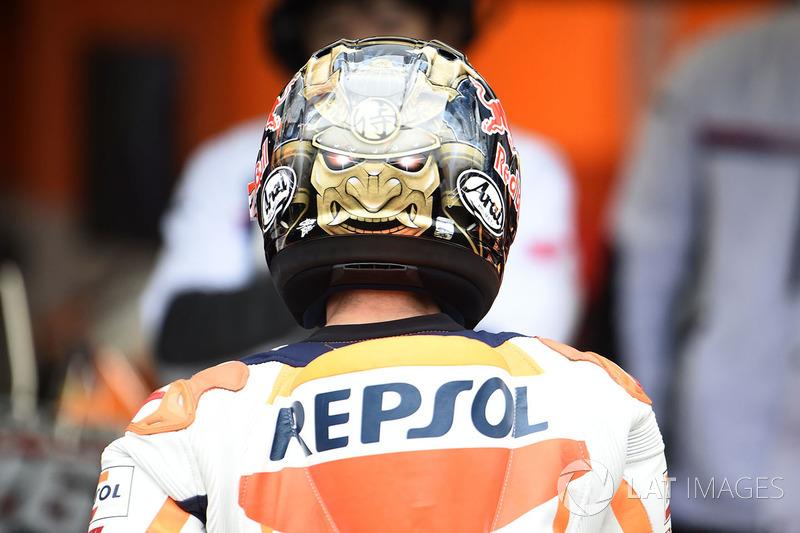 Dani Pedrosa, Repsol Honda Team helmet