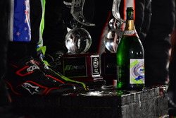 P podium: winners Scott Sharp, Ryan Dalziel, Brendon Hartley, Tequila Patrón ESM
