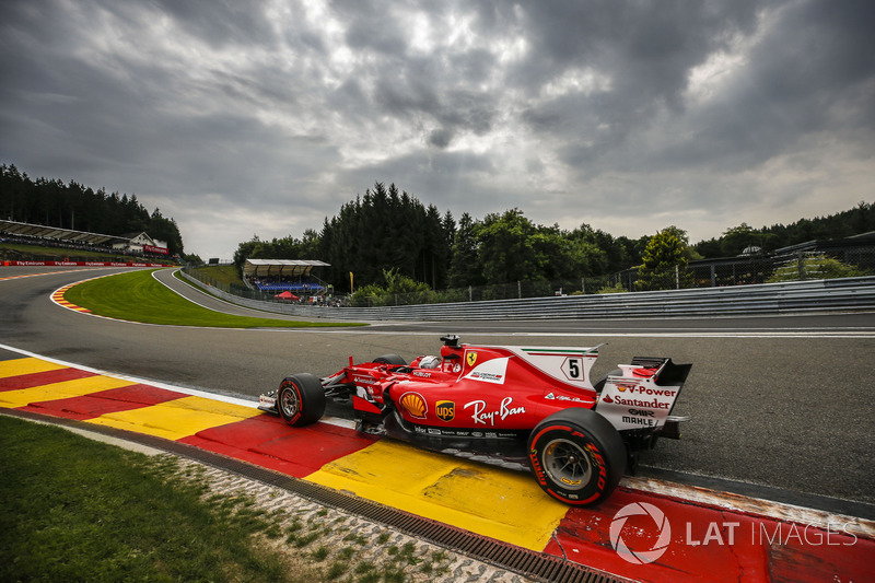 2: Sebastian Vettel, Ferrari SF70H