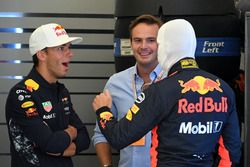 Max Verstappen, Red Bull Racing, Pierre Gasly, Red Bull Racing and Giedo van der Garde