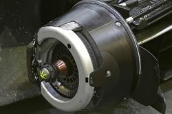 Detail Bremse, #8 Audi Sport Team Joest Audi R18 brake detail