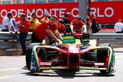 The car of Daniel Abt, ABT Schaeffler Audi Sport