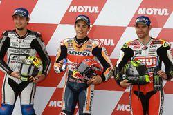 Qualifying: second place Karel Abraham, Aspar Racing Team, polesitter Marc Marquez, Repsol Honda Tea