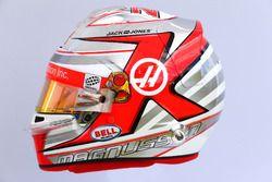 The helmet of Kevin Magnussen, Haas F1 Team