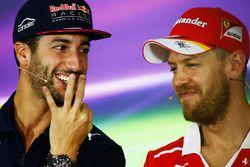 Daniel Ricciardo, Red Bull Racing, Sebastian Vettel, Ferrari