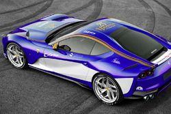 Ferrari 812, Sauber renk düzeni ile