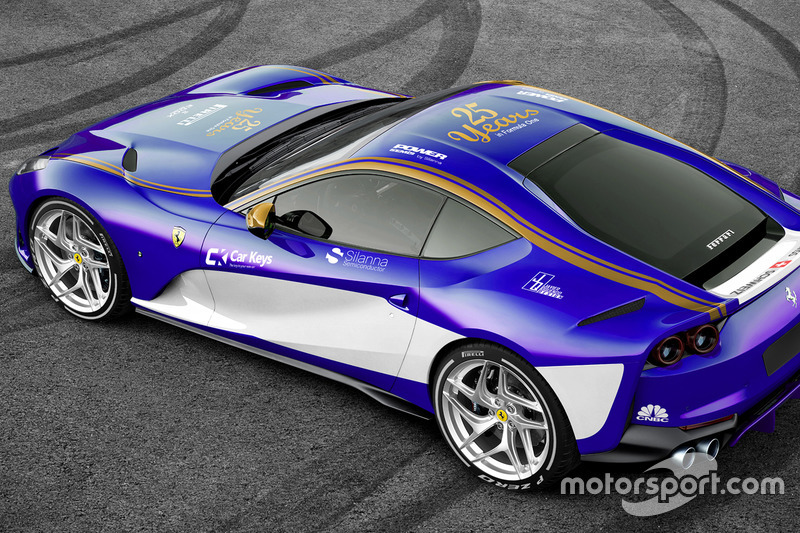 Sauber Ferrari 812 Superfast