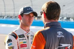Daniel Suárez, Joe Gibbs Racing Toyota y Dave Rogers