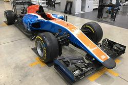 Manor Racing show car