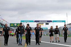 Esteban Ocon, Force India F1 and Sergio Perez, Sahara Force India F1