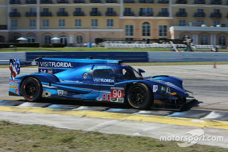6. P: #90 Visit Florida Racing, Multimatic Riley LMP2