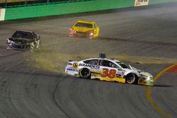 David Ragan, Front Row Motorsports Ford crash