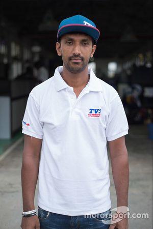 R Nataraj, TVS