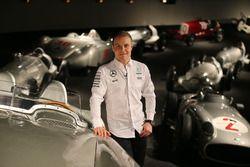 Valtteri Bottas, Mercedes AMG F1 en el museo de Mercedes-Benz