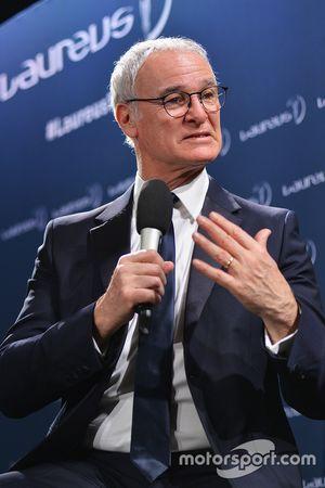 Manager Claudio Ranieri of Leicester City FC