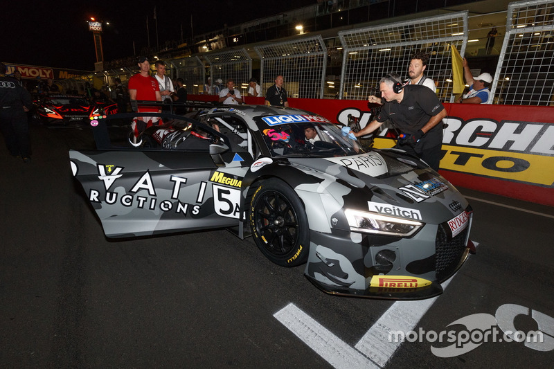 #5 GT Motorsport Pty Ltd, Audi R8 LMS: Greg Taylor, Nathan Antunes, Elliot Barbour