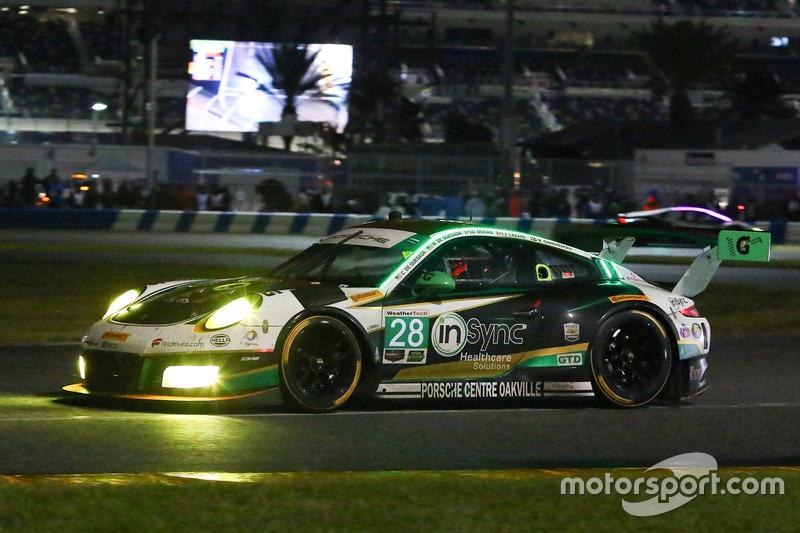 #28 Alegra Motorsports, Porsche 911 GT3 R: Daniel Morad, Jesse Lazare, Carlos de Quesada, Michael de
