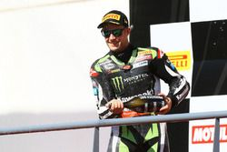 Podio: Jonathan Rea, Kawasaki Racing