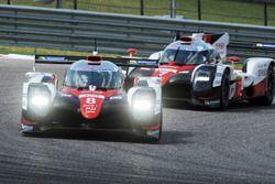 #8 Toyota Gazoo Racing Toyota TS050 Hybrid: Stéphane Sarrazin, Sébastien Buemi, Kazuki Nakajima, #7