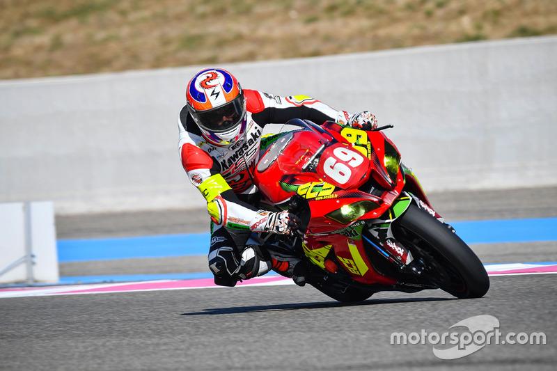 15. #69 Ecurie Chrono Sport, Kawasaki: Louis Rossi, Alexis Masbou, Matteo Ferrari