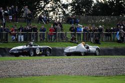 Freddie March Memorial Trophy: Chris Ward Cooper Jaguar Rob Hall Aston Martin DB3