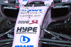 Breast Cancer Care wirbt bei Force India VJM10