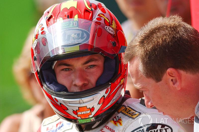 Nicky Hayden, Honda, mit Freddie Spencer